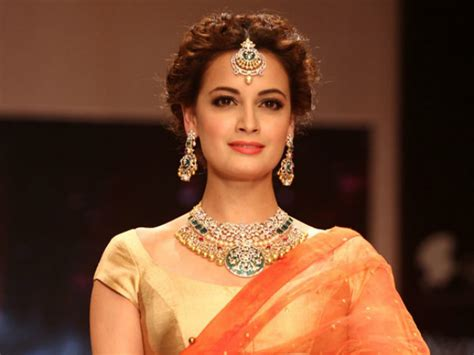 Miss India World Dias Unleashed Newsvine Fashion by Dia Mirza Says Artists Every Right To Return Awards