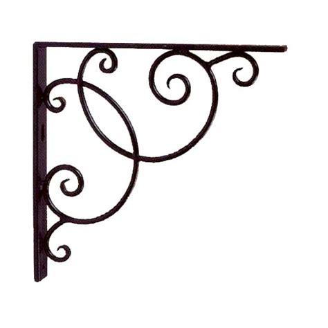 wrought iron bookcase designs achla designs scroll iron shelf bracket set b21