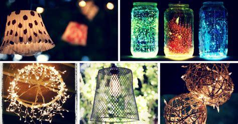 15 Brilliant DIY Outdoor Lighting Ideas for Summer   Homelovr