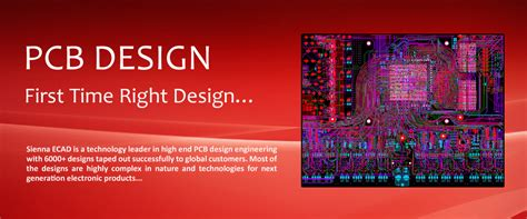 pcb layout design companies sienna ecad technologies pcb design service
