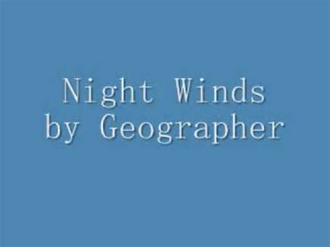 animal shapes album geographer winds by geographer
