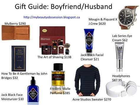 shopping of gift for husband gift guide for boyfriend husband my obssession