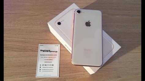 unboxing iphone 8 et premier d 233 marrage