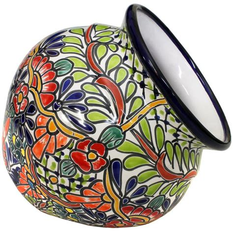 Mexican Wall Planters by Talavera Planters Collection Talavera Wall Planter Tp335