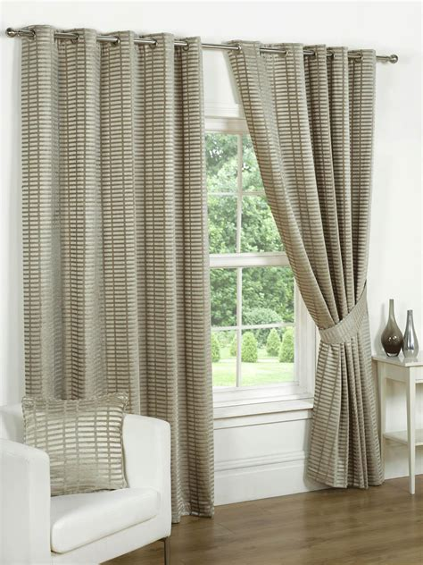 vancouver curtains vancouver lined eyelet curtain natural free uk delivery
