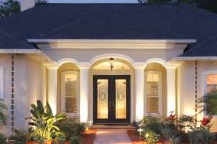 Exterior Entryway Designs by Beautifying Your Front Entry With Architectural Details