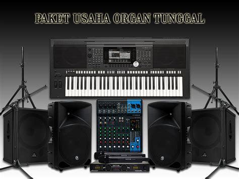 Keyboard Organ Tunggal Second paket usaha organ tunggal lengkap 1