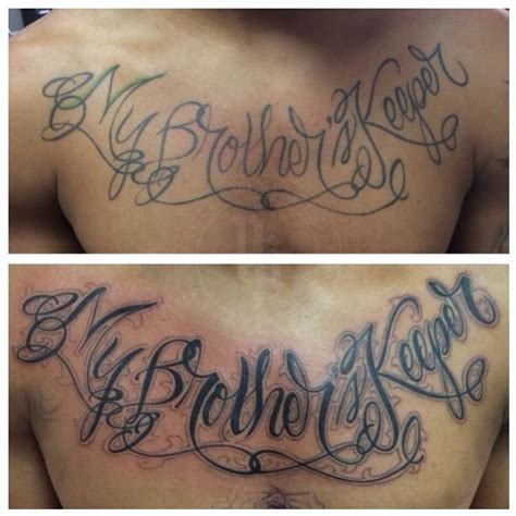 im my brothers keeper tattoos my brothers keeper tattoos find my brothers