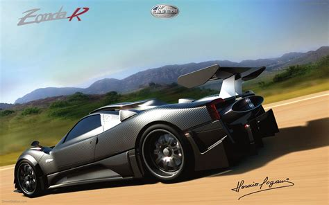 pagani zonda r official renders widescreen