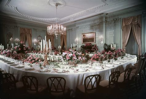 white house state dining room in photos the state dining room and dinners since 1871