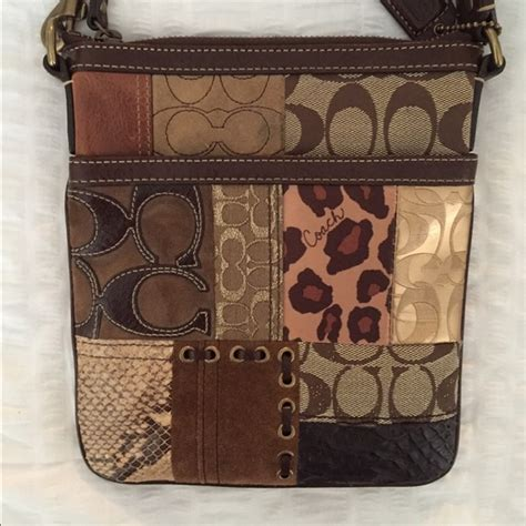 Coach Patchwork Crossbody - 74 coach handbags coach patchwork crossbody from