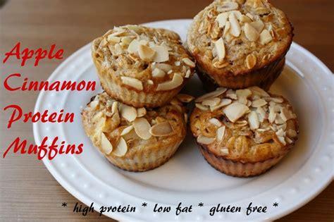 protein muffins recipe apple cinnamon protein muffins recipe