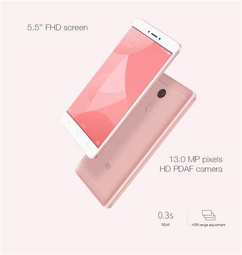 Promo Xiaomi Redmi Note 4x Snapdragon 625 Pink Grey Dan Gold xiaomi redmi note 4x 5 5 inch 3g 32gb smartphone pink