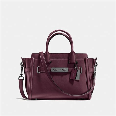 New Arrival Coach Swagger Mini coach coach swagger 27 in glovetanned leather