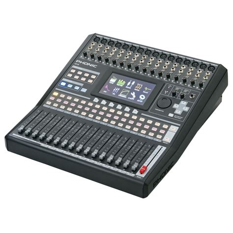 Mixer 16 Channel Bekas phonic isi6 digital mixer at gear4music