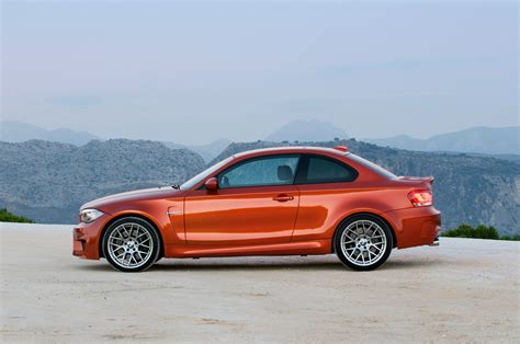 Bmw Orange by 2011 Valencia Orange Bmw 1 Series M Coupe Side Eurocar