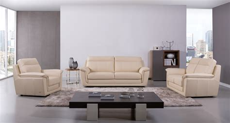 beige leather sofa set genuine italian leather beige three piece sofa set