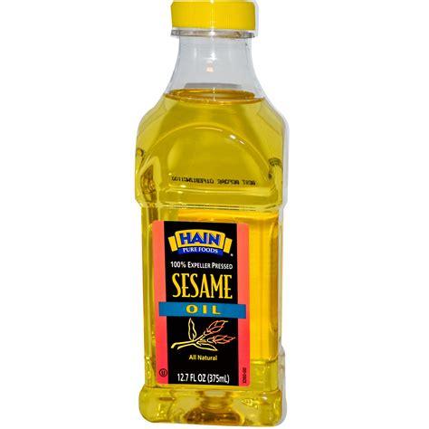 Hain Pure Foods, Sesame Oil, 12.7 oz (375 ml)   iHerb.com