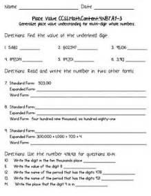 free decimal place value worksheets 6th grade decimal