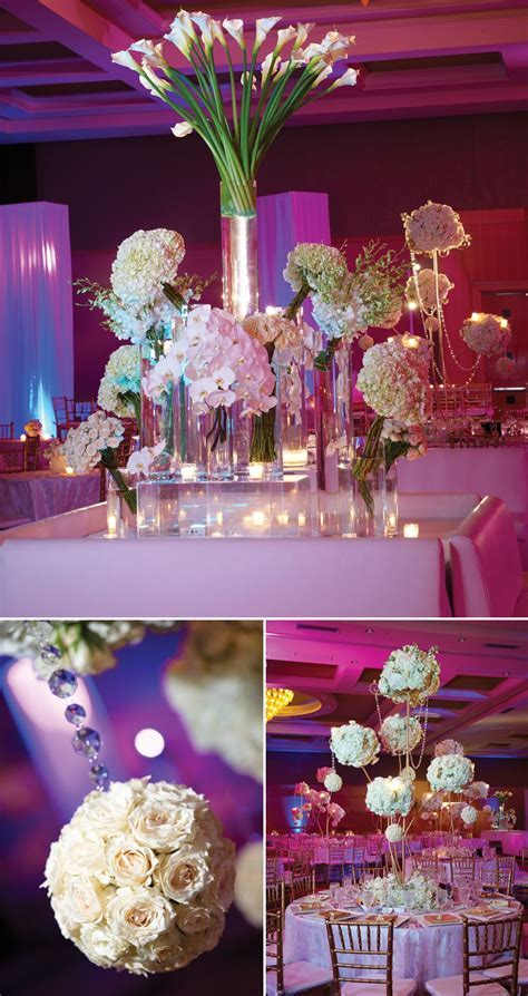 Pretty wedding reception decorations.   Wedding Decoration