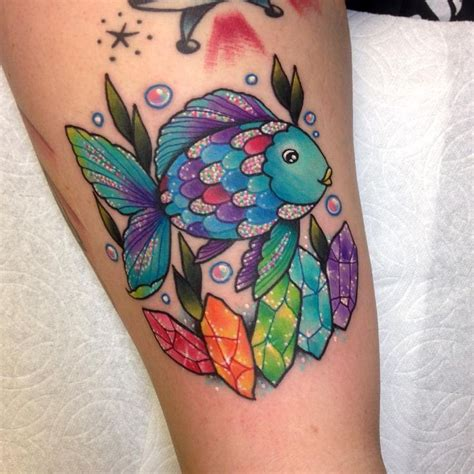 rainbow fish tattoo best 25 rainbow tattoos ideas on pride