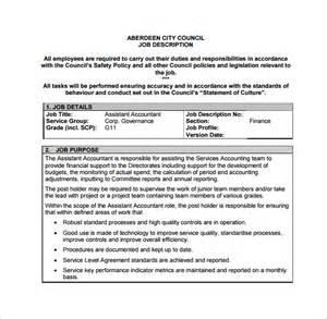 Assistant Accountant Description by Assistant Accountant Description Writefiction90 Web Fc2