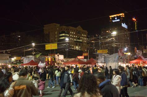 new year hong kong market new years market at
