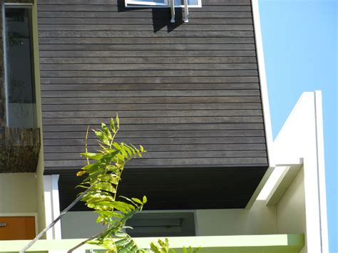 Black Shiplap Cladding Newport Cladding Spotted Gum Coated In Black Ash Gold