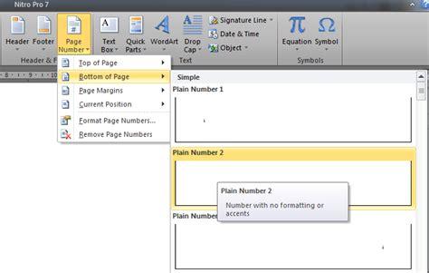 cara membuat halaman footer di word 2010 nurhamim s blog cara mengatur nomor halaman dengan format