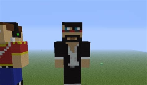 Captainsparklez Statue Minecraft Project