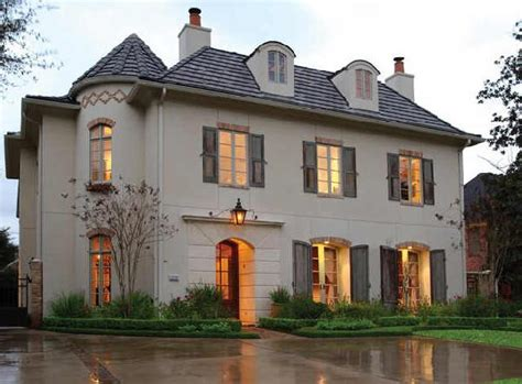 chateau home exterior robert dame designs