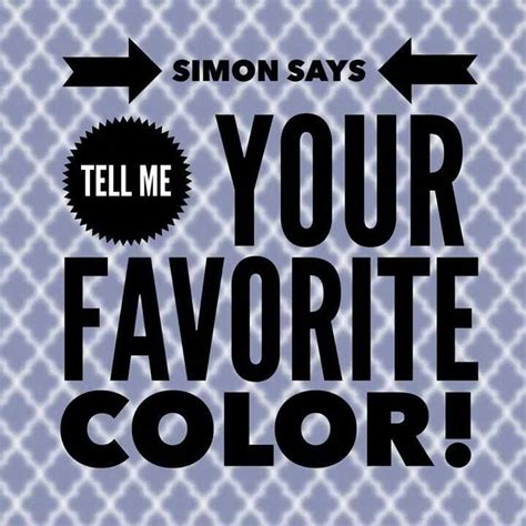 what does my favorite color tell about me 27 best images about simon says game on pinterest