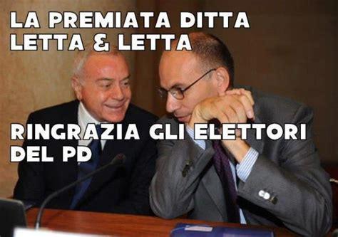 enrico letta gianni letta letta letta ovvero come azzerare il pd idee in movimento