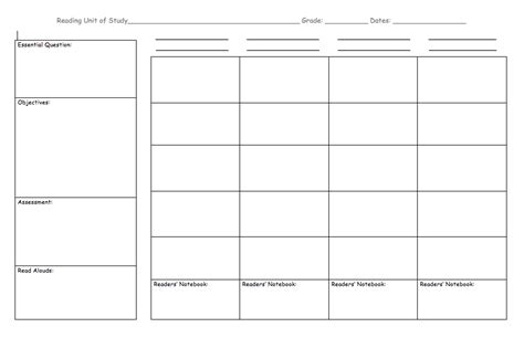 unit plan calendar template search results calendar 2015