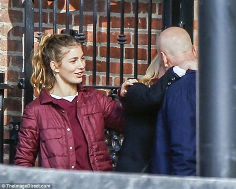 actress of death wish bruce willis gets close to eighties icon elisabeth shue on