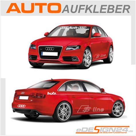 Audi Quattro Aufkleber Maße by E73 Audi Sline Quattro Sticker Auto Aufkleber A3 A4 A6 Ebay