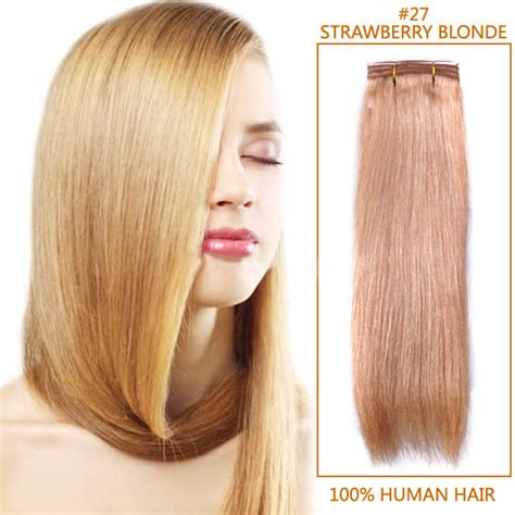 indian remy skin weft hair 14 inch 27 strawberry indian remy hair wefts