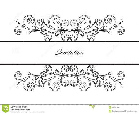 Wallpaper Stiker Motif Luxury Blue Line 1 vintage frame decor vector illustration royalty free