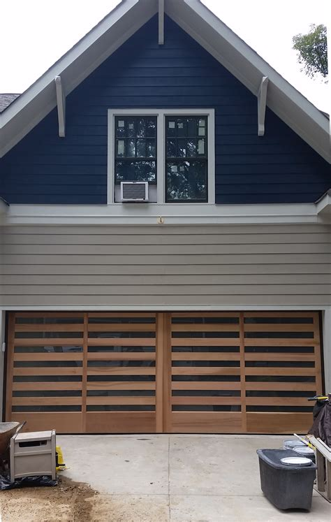 Handmade Oak Doors - handcrafted wood garage doors overhead door of