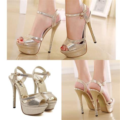 Shh1993 Material Pu Heel 14cm Size 35 36 37 389 shoes 65 grosir sepatu pesta hak tinggi