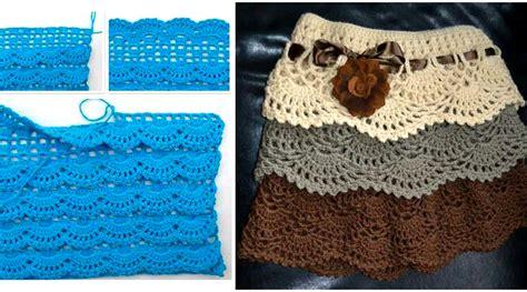 falda con arandelas tejida a crochet para ni 241 as youtube falda de nia tejida a crochet tutorial paso a paso para