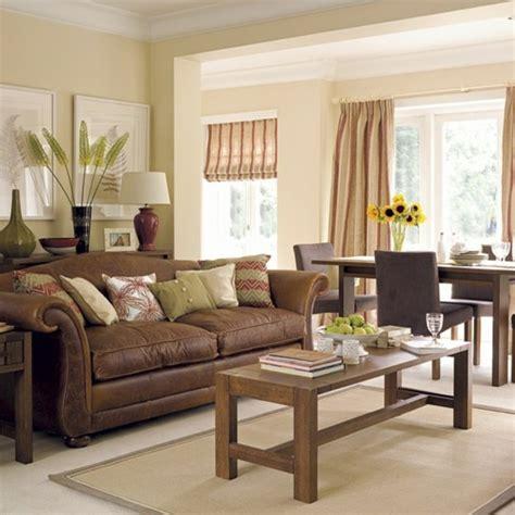Braunes Sofa Welche Wandfarbe by 115 Sch 246 Ne Ideen F 252 R Wohnzimmer In Beige Archzine Net