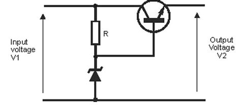 regulated power supply using zener diode zener diode circuits applications