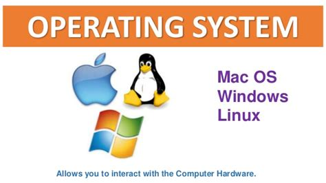 The Operating System Of Jesus operating system