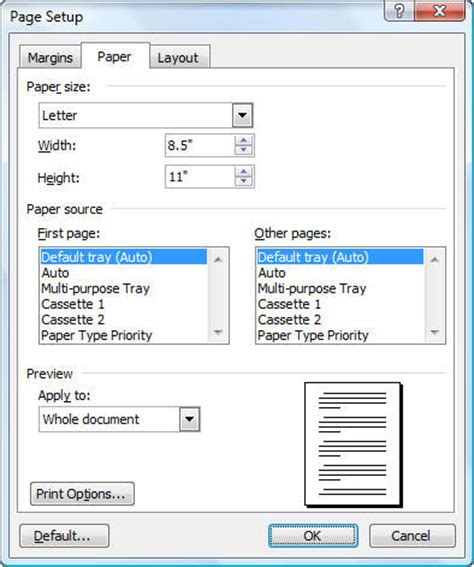 layout dialogue box word 2013 layout dialogue box word 2010 page setup dialog in