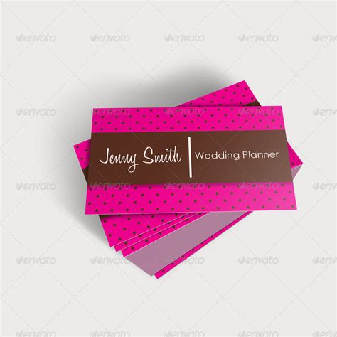 Wedding Planner Business by Wedding Planner Business Cards 2 By Jahirbaylon Graphicriver