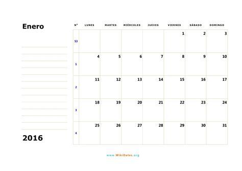 Calendario Chile 2016 Calendario 2016 Calendario De Espa 241 A 2016