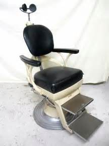 Dentist Chair by Beautiful Bausch Lomb Antique Vintage Dental Dentist