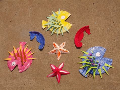 How To Make A Seahorse Out Of Paper - 17 best images about craft summer on
