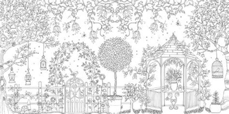 Secret Garden An Inky Treasure Hunt And Coloring Book In